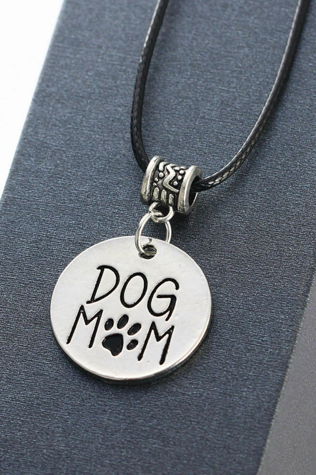 Mimi's Gift Gallery Dog Mom Necklace - Front Full Image