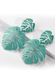 Mimi's Gift Gallery Enamel Palm Leaf - Front cropped