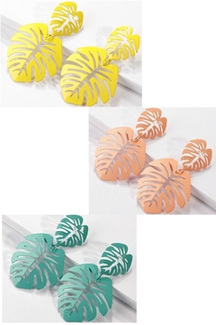Mimi's Gift Gallery Enamel Palm Leaf - Product List Image