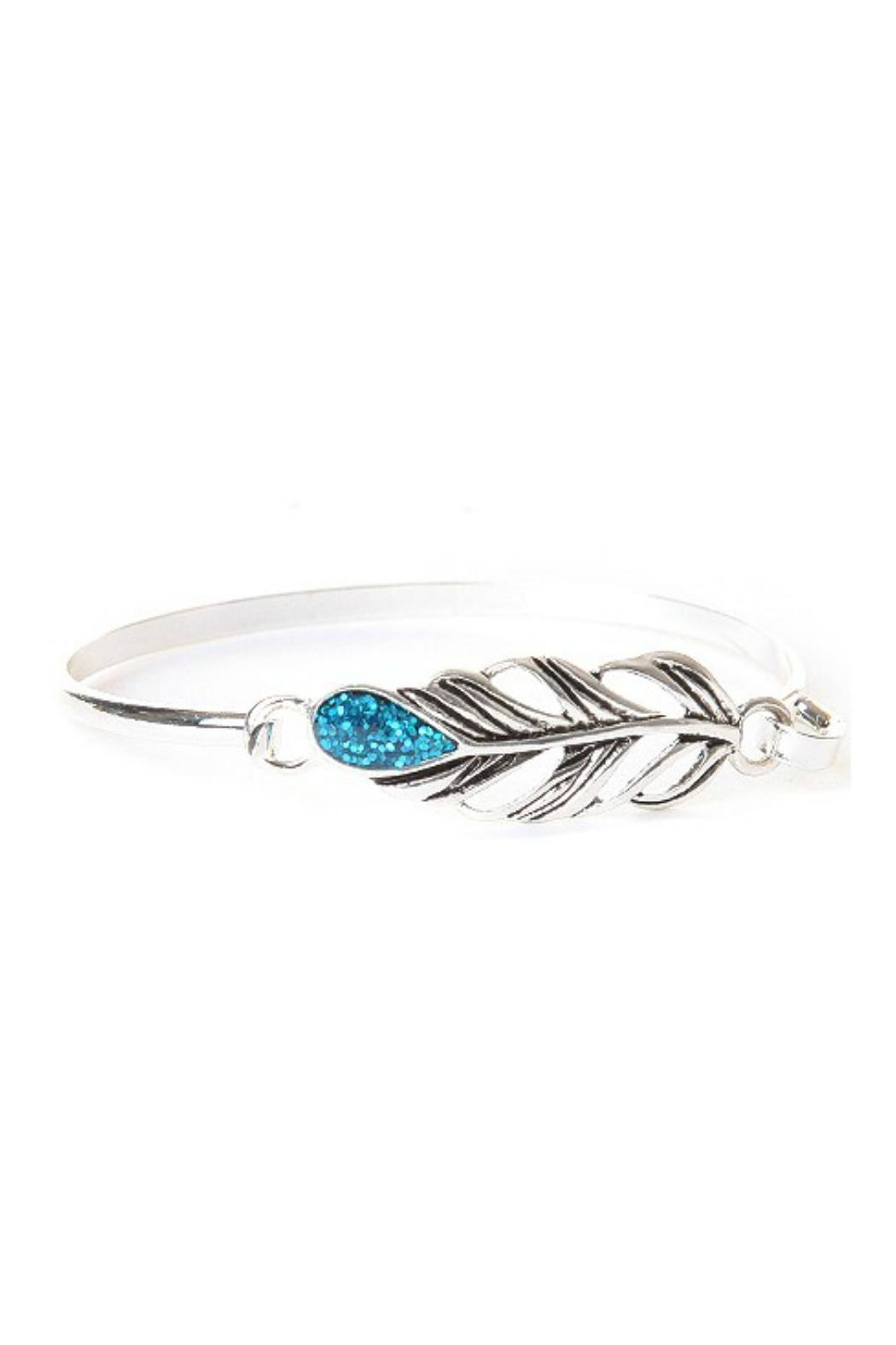 Mimi's Gift Gallery Feather Opal Bangle - Main Image