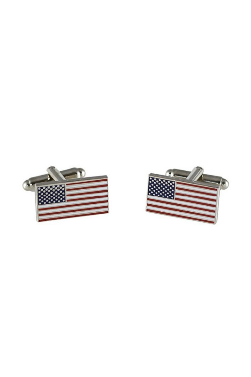 Mimi's Gift Gallery Flag Cuff Links - Main Image