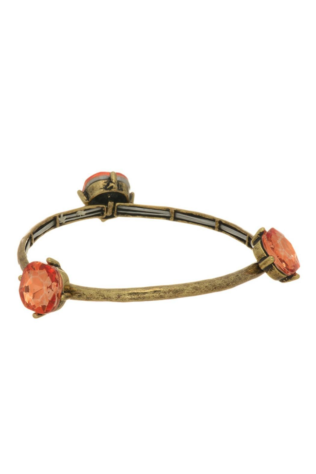 Mimi's Gift Gallery Gold Coral Bracelet - Main Image