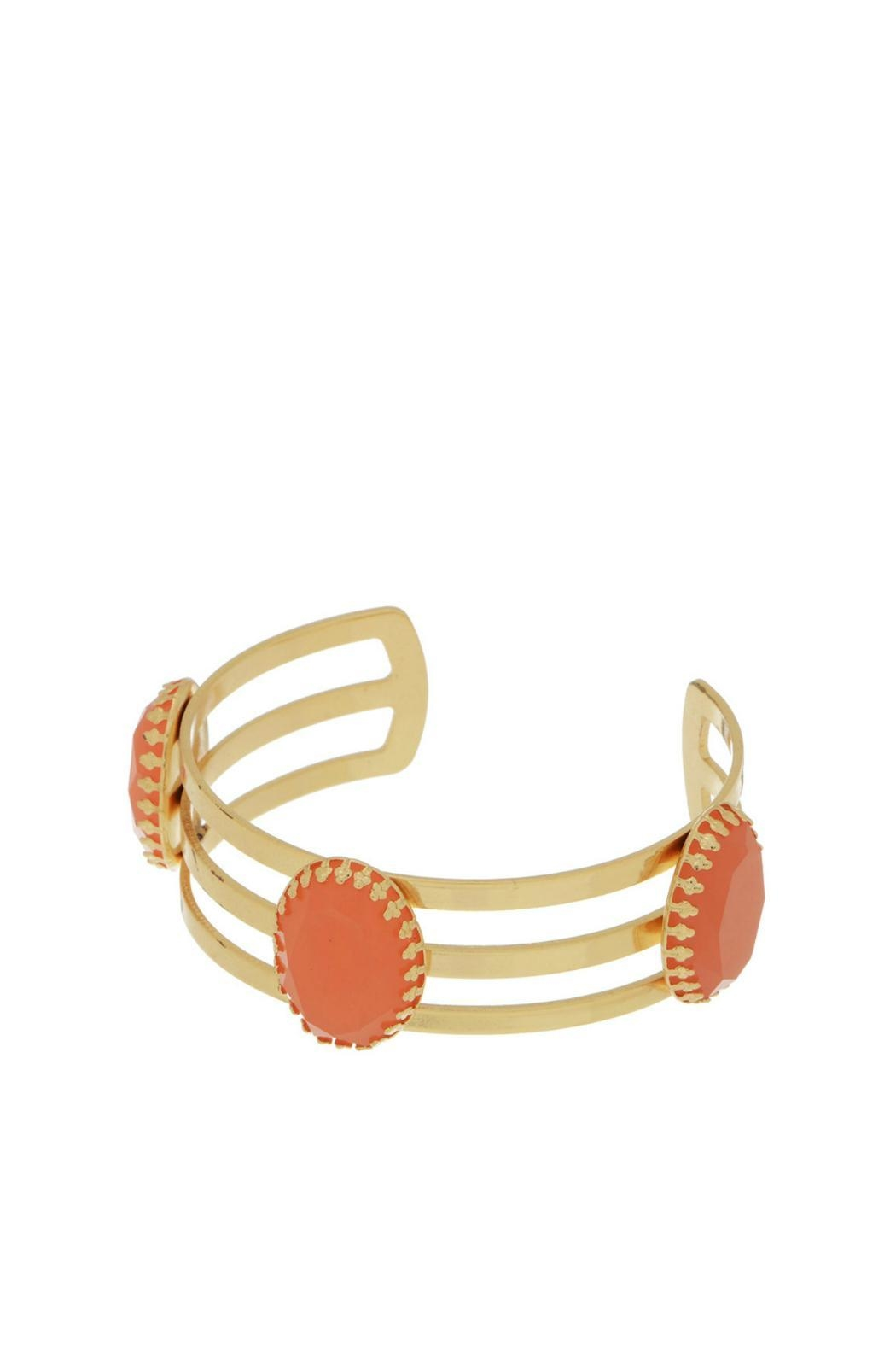 Mimi's Gift Gallery Gold Coral Cuff - Main Image