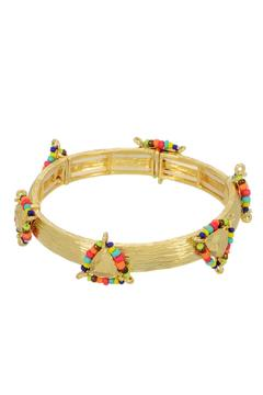 Mimi's Gift Gallery Gold Multi-Color Bracelet - Alternate List Image