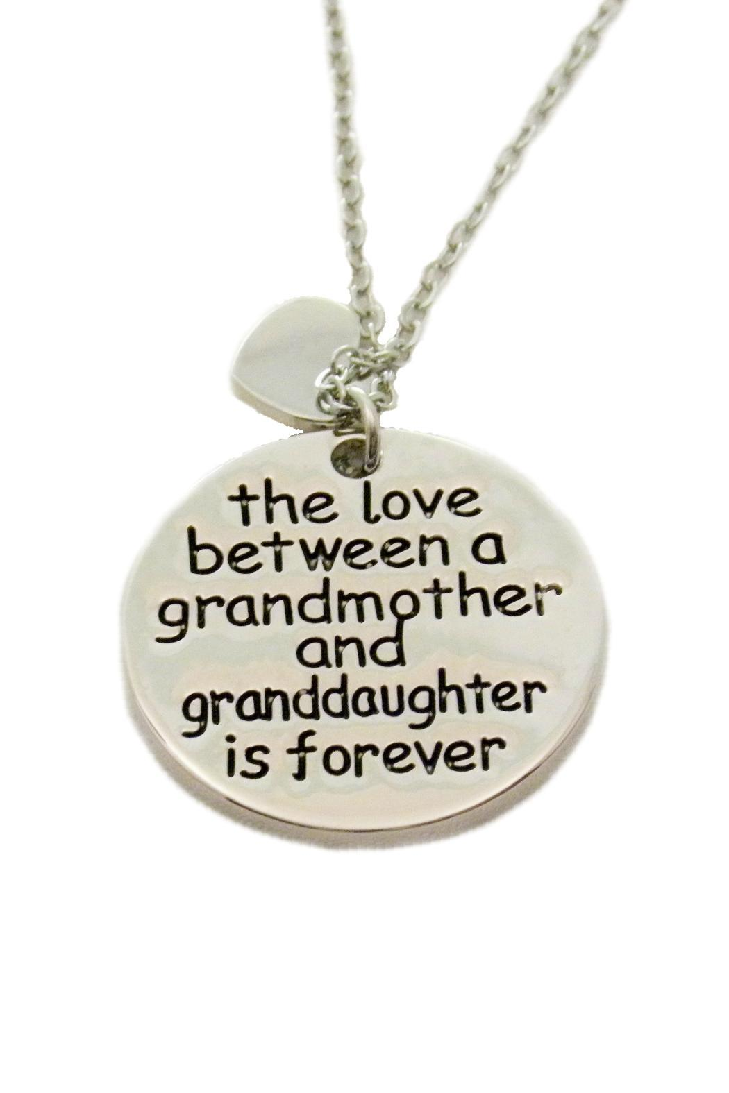 Mimi's Gift Gallery Grandmother Love Necklace - Front Cropped Image