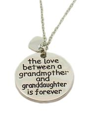Mimi's Gift Gallery Grandmother Love Necklace - Front cropped