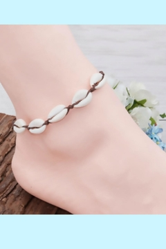 Mimi's Gift Gallery Handmade Seashell Anklet - Product List Image