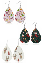 Mimi's Gift Gallery Holiday Earrings !! - Front cropped