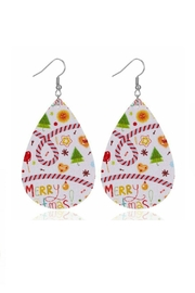 Mimi's Gift Gallery Holiday Earrings !! - Front full body