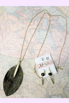 Mimi's Gift Gallery Leather Necklace Set - Product List Image