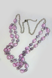 Mimi's Gift Gallery Lilac Beaded Necklace-Set - Side cropped