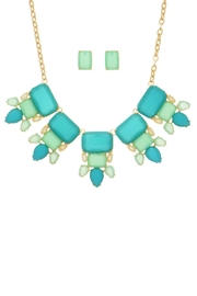 Mimi's Gift Gallery Mint/teal Necklace Set - Product Mini Image