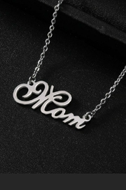 Mimi's Gift Gallery Mom Stainless-Steel Necklace - Product Mini Image