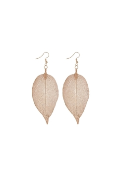 Mimi's Gift Gallery Rose Gold Leaves - Product List Image