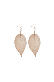 Mimi's Gift Gallery Rose Gold Leaves - Front cropped