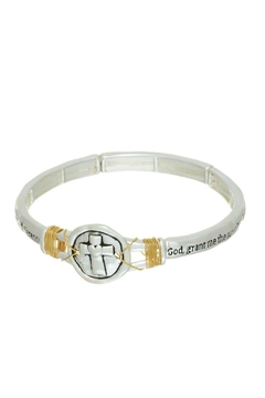 Mimi's Gift Gallery Serenity Prayer Bracelet - Product List Image
