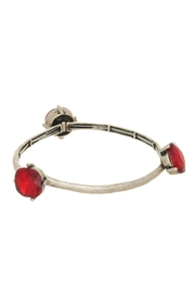 Mimi's Gift Gallery Silver Ruby-Red Bracelet - Product Mini Image