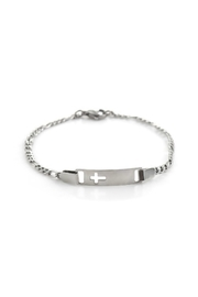 Mimi's Gift Gallery Stainless Steel Cross - Front cropped