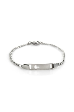 Mimi's Gift Gallery Stainless Steel Cross - Product List Image