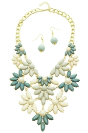 Mimi's Gift Gallery Teal Statement Set - Front cropped