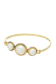 Mimi's Gift Gallery Triple Pearl Bangle - Product Mini Image