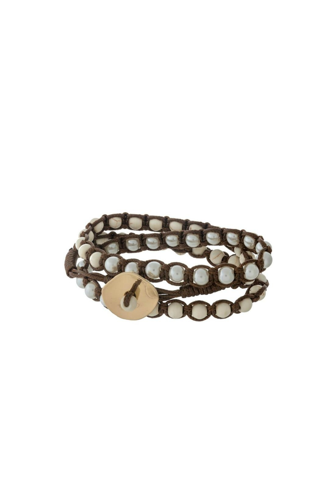 Mimi S Gift Gallery Triple Wrap Bracelet Front Cropped Image