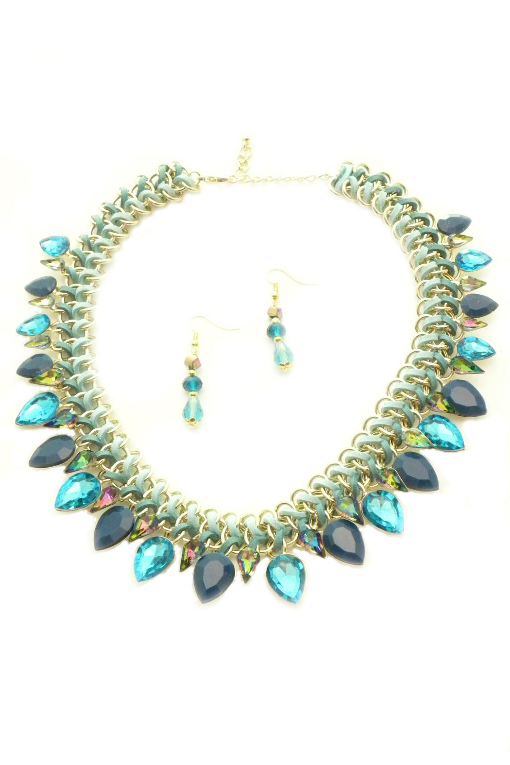 Mimi's Gift Gallery Turquoise Necklace Set - Main Image