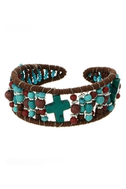 Mimi's Gift Gallery Turquoise Brown Bracelet - Product Mini Image