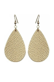 Mimi's Gift Gallery Vegan Leather Earrings - Product Mini Image