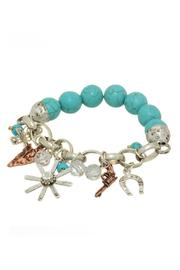 Mimi's Gift Gallery Western Turquoise Bracelet - Product Mini Image