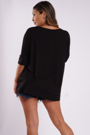 LA Trading Co Mimi Tee - Nonchalant, but Chalant - Front full body