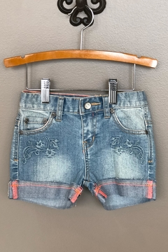 Shoptiques Product: Embroidered Denim Short