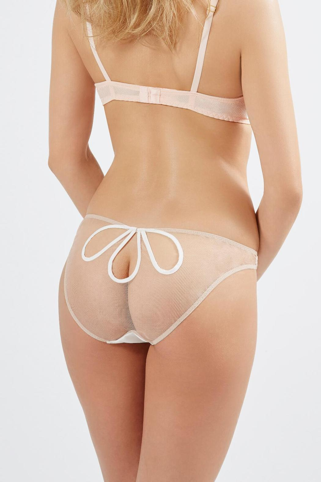 Mimi Holliday Cutout Petal Knicker - Front Cropped Image