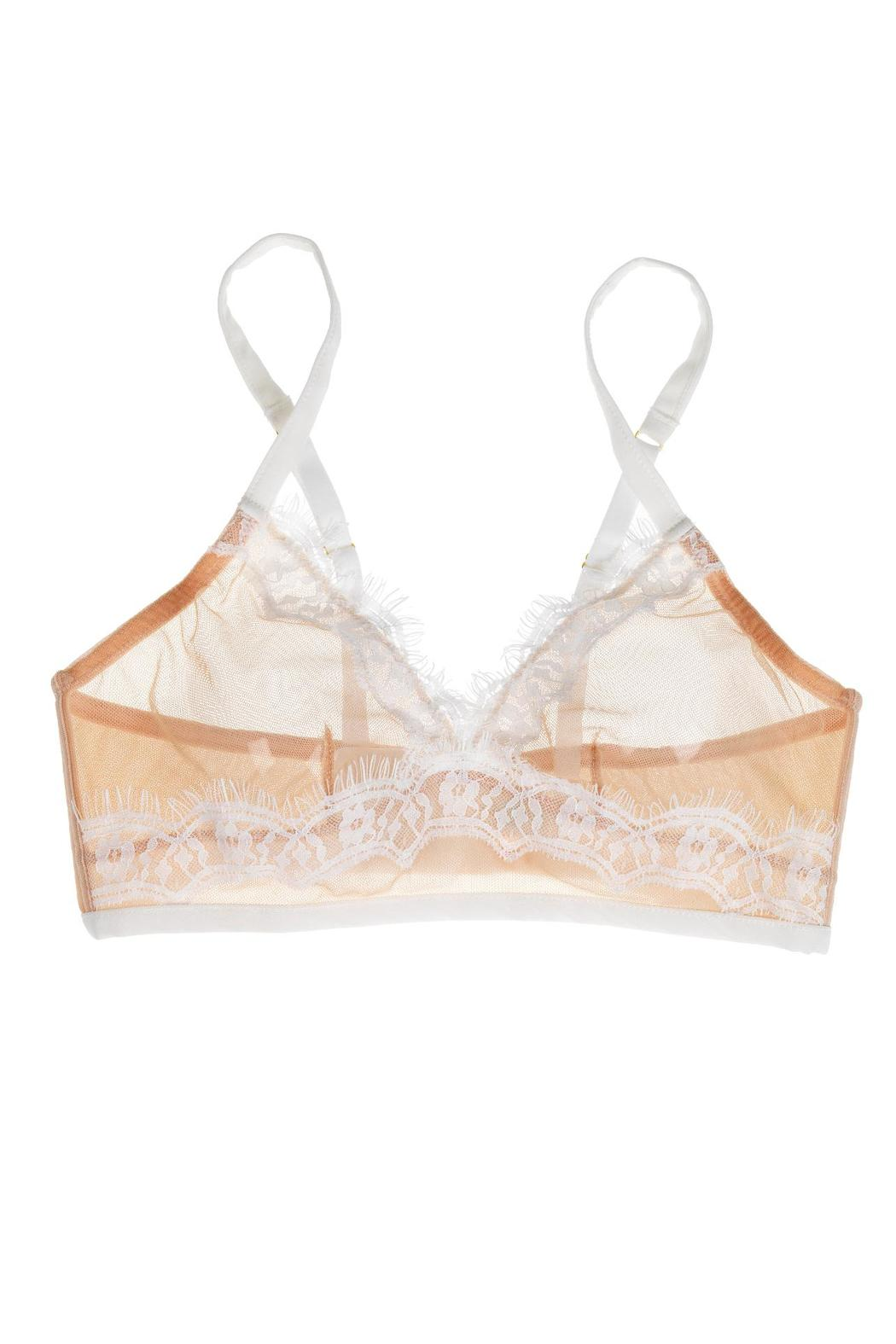 Mimi Holliday Longline Triangle Bralette - Side Cropped Image