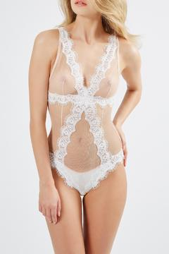 Mimi Holliday Mesh Lace Teddy - Product List Image