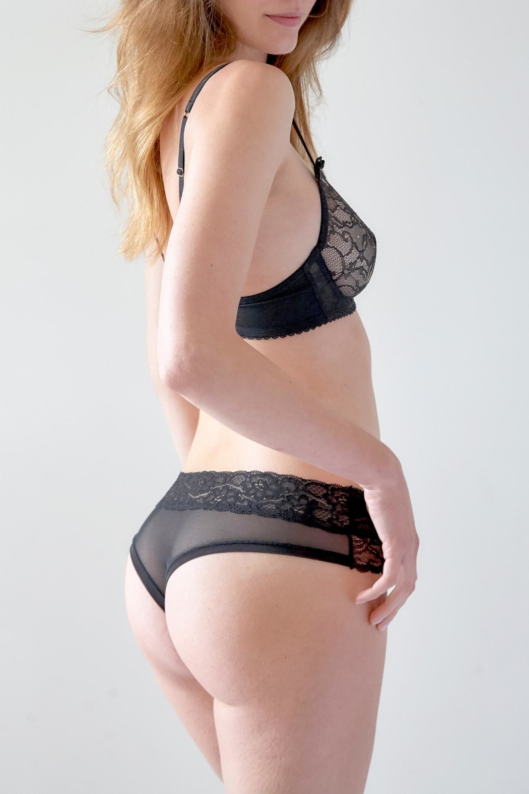 Mimi Holliday Rodeo Stretch-Lace Bra - Front Full Image
