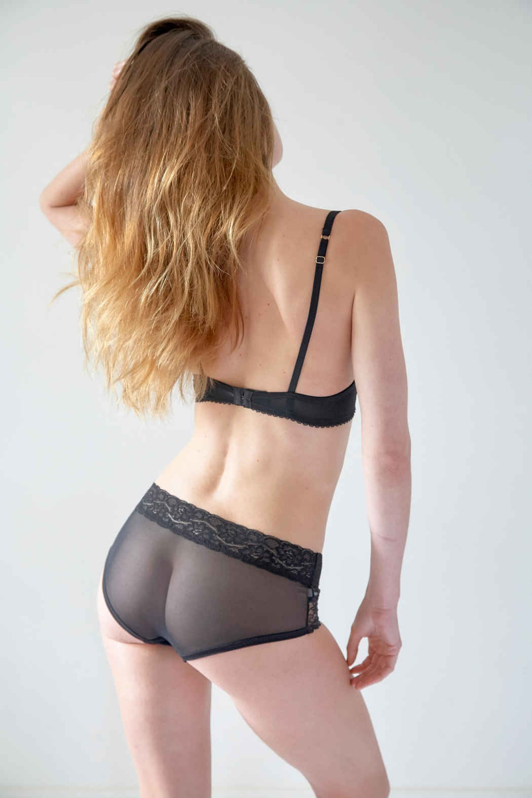 Mimi Holliday Rodeo Stretch-Lace Bra - Side Cropped Image