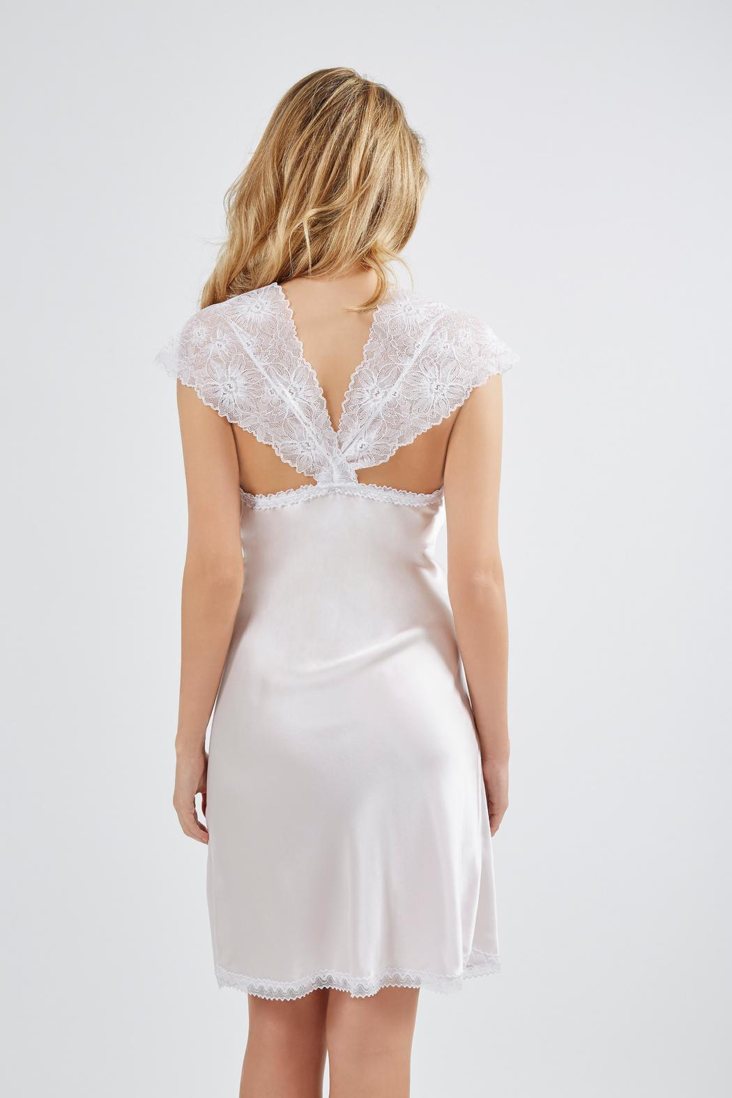 Mimi Holliday Silk Chemise - Front Full Image