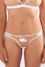 Mimi Holliday Swan Peep Thong - Product Mini Image