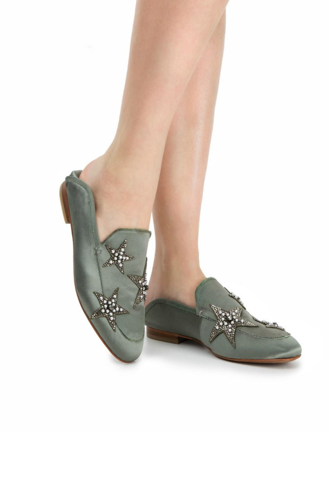 Lola Cruz Mimosa Star Loafer - Front Cropped Image
