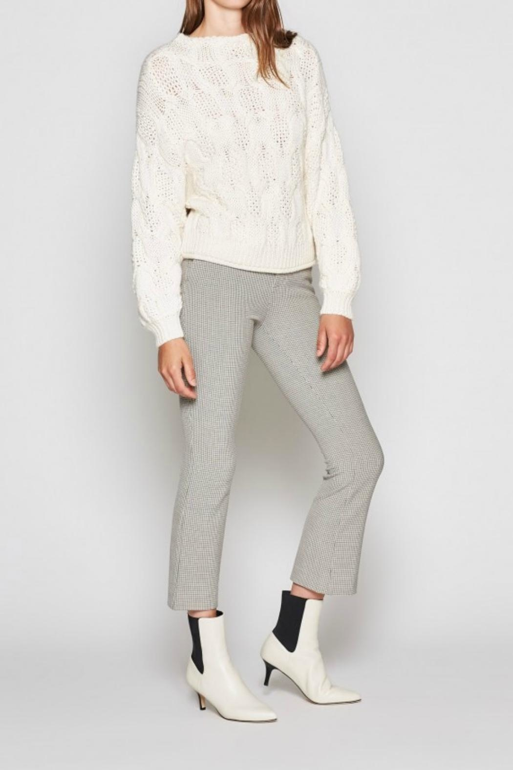 Joie Minava Cable Sweater - Front Full Image