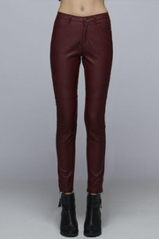 Mind Code Faux Leather Pant - Product Mini Image