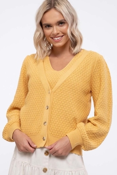 Mine Cozy Button Up Cardigan - Product List Image