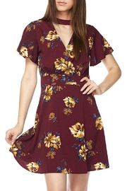 Mine Floral Choker Dress - Product Mini Image
