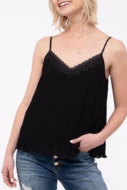 Mine Lace Trim Camisole - Front cropped