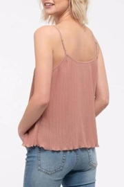 Mine Lace Trim Camisole - Front full body