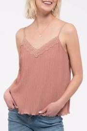 Mine Lace Trim Camisole - Product Mini Image