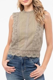 Mine Lace Vintage-Inspired Blouse - Product Mini Image