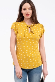 Mine Mustard Leaf Blouse - Product Mini Image