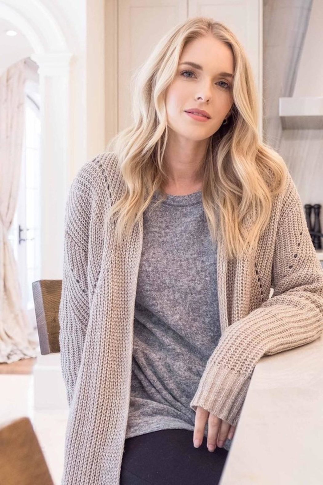 Mine Must Have Chunky Cardigan - Front Full Image